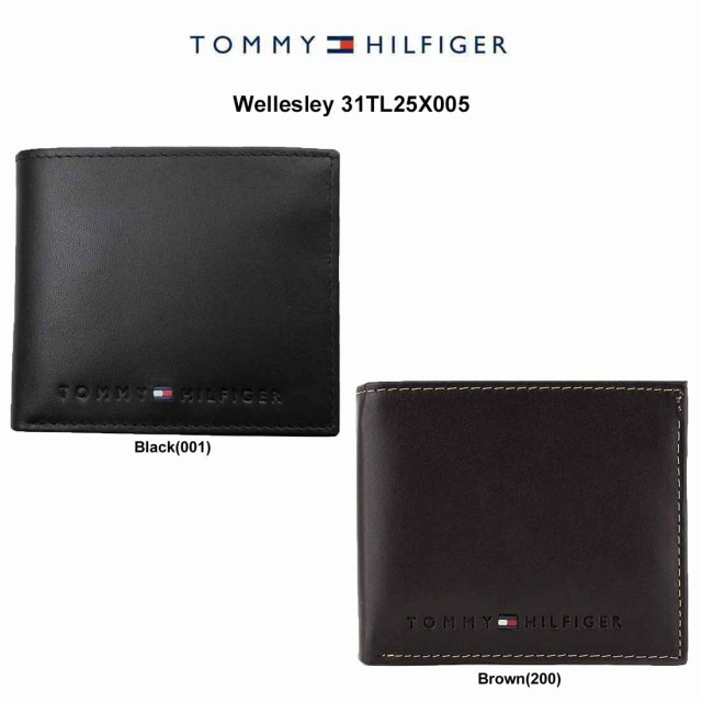 TOMMY HILFIGER(トミーヒルフィガー)二つ折り財布...