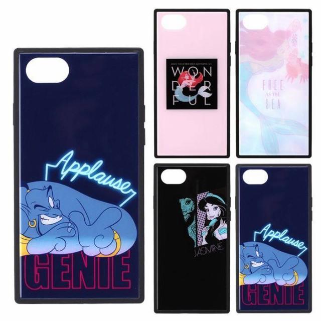 iPhone8/7/6s/6 対応 ケース カバー Disney ガラ...