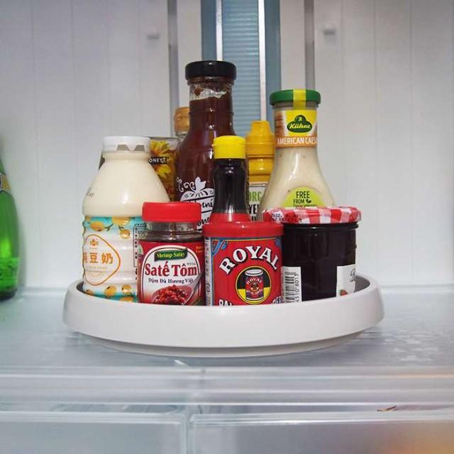 即納 冷蔵庫の中でも便利 くるっトレー 回転台 直...