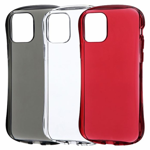 iPhone 12/iPhone 12 Pro 耐衝撃 ソフトケース CL...