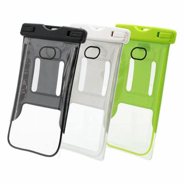 防水ケース 汎用型 6.5インチ スマートフォン iPhone ケース カバー 防水 IP68 指紋認証付 アームバンド付 ストラップ付 バウト BWCF65