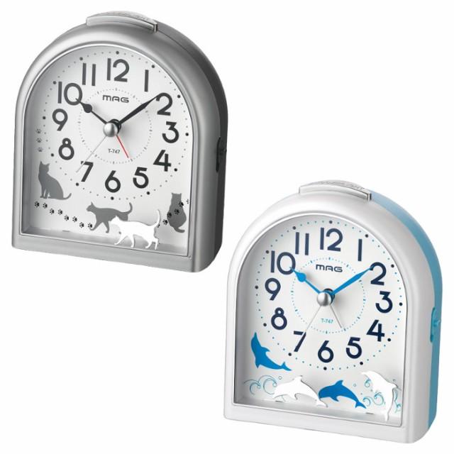 目覚まし時計 アナログ 置き時計 連続秒針 電子音...