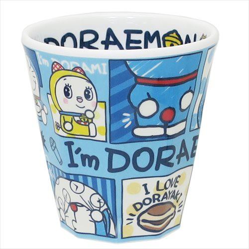 ◆ドラえもん Wプリントメラミンコップ/I'm Dora...