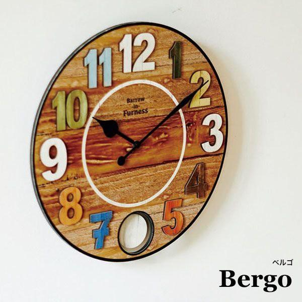掛け時計 アンティーク レトロ 時計 壁掛け おし...