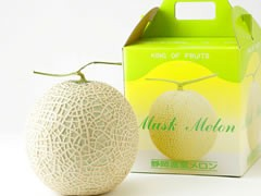 静岡県産 温室マスクメロン