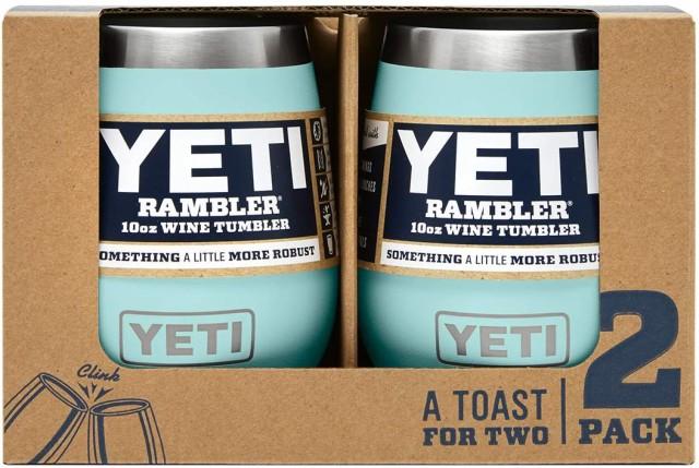 【2個セット】YETI Rambler 10 oz Wine Tumbler S...