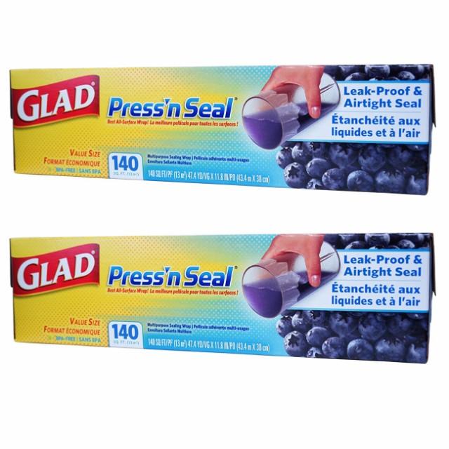 【2個セット】Glad グラッド プレスンシール 食品...