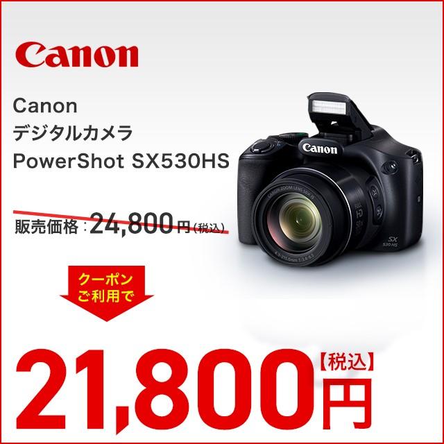 シャッターボタンを押すだけで撮影できる初心者サポート機能も充実《Canon デジタルカメラ PowerShot SX530HS》