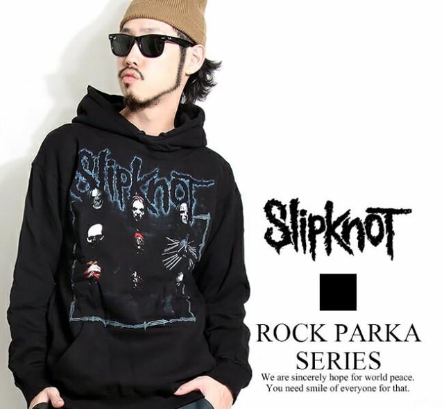 ロックパーカー slipknot イラスト2 スリップノッ...