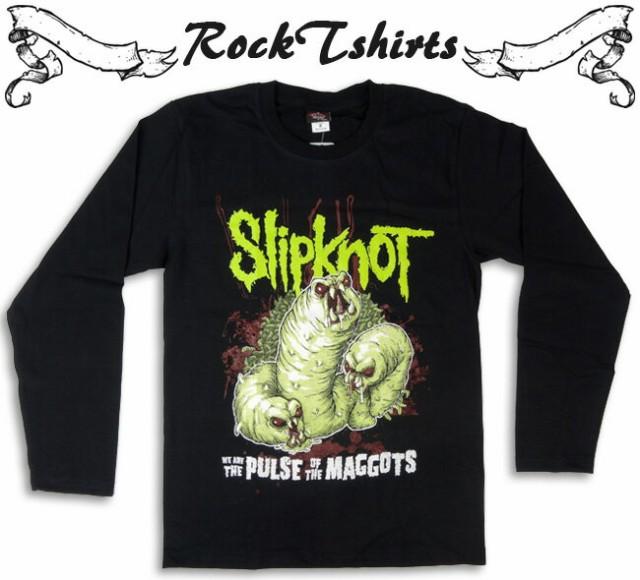 長袖ロックTシャツ SlipKnot スリップノット 怪獣...