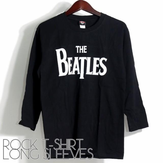 長袖ロックTシャツ THE BEATLS ビートルズ メンズ...
