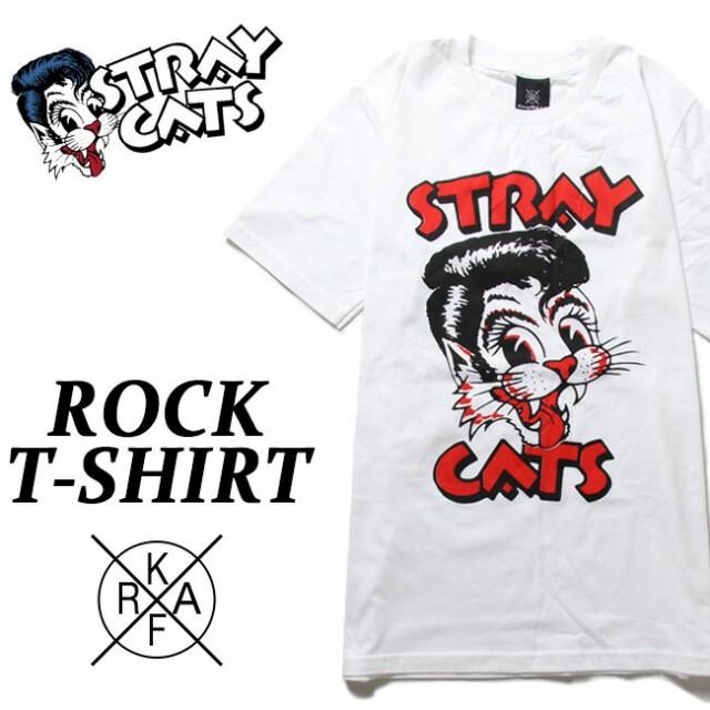 ロックTシャツ 半袖 Stray Cats Tシャツ ストレイ...