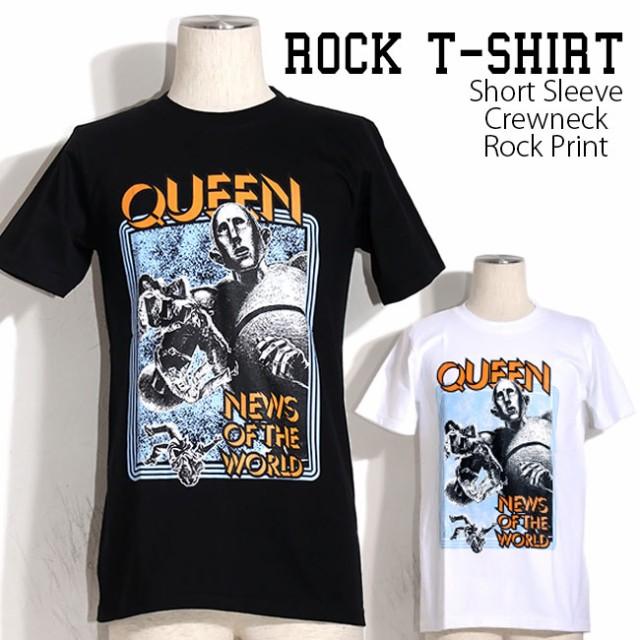 ロックTシャツ Queen Tシャツ クイーンバンドTシ...