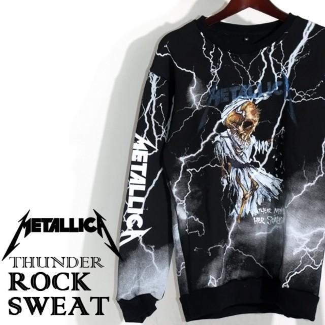 ロックパーカー Metallica パーカー メタリカ バ...