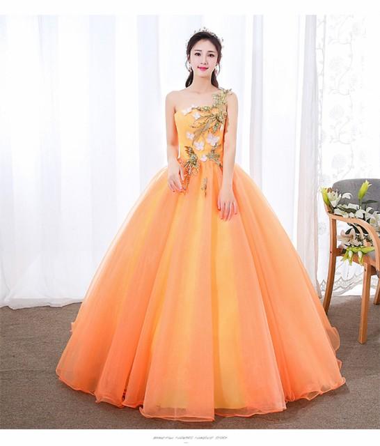 大特価 カラードレス ウェディングドレス ロング...