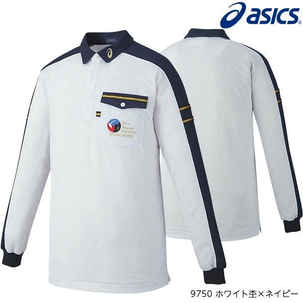 アシックス(asics) レフリーシャツ 長袖 バ...