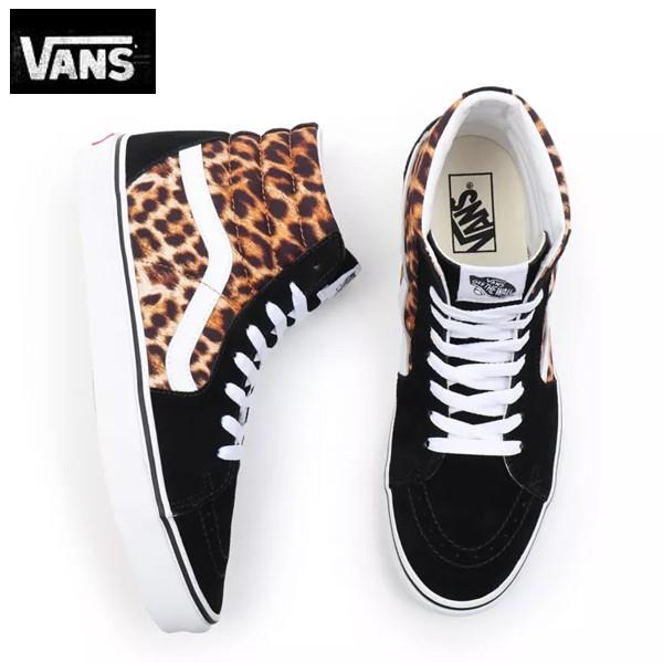 バンズ VANSヴァンズ靴スニーカーSK8-HI (LEOPARD...