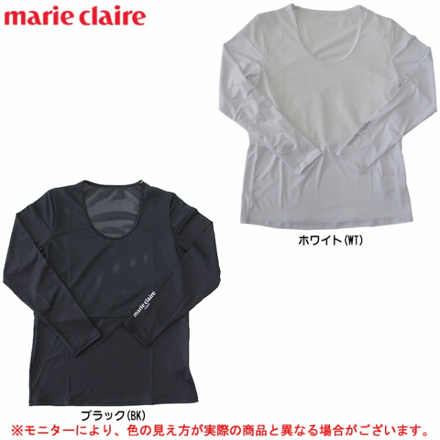 marie claire(マリクレール)クルーネック長袖ア...