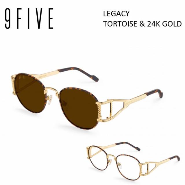 サングラス 9five LEGACY Tortoise & 24k Gold ...