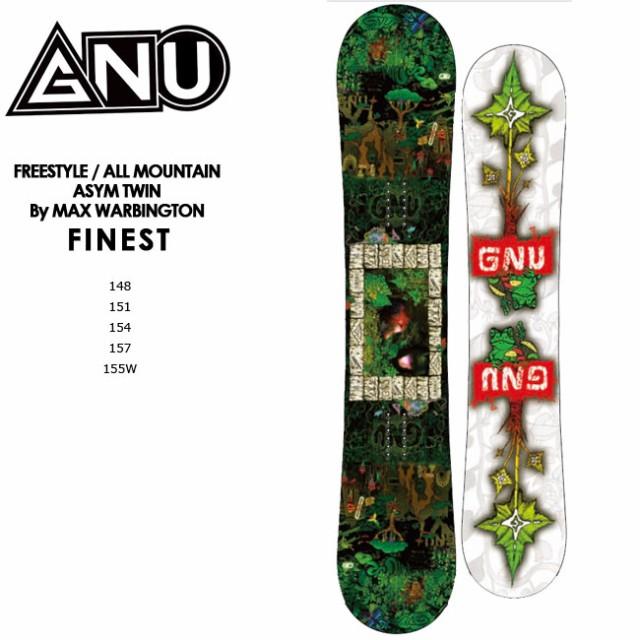 【予約】 グヌー スノーボード GNU FINEST 20-21 ファィニィスト マックス・ワービントン ダブルキャンバー スノボ SNOWBOARD 板