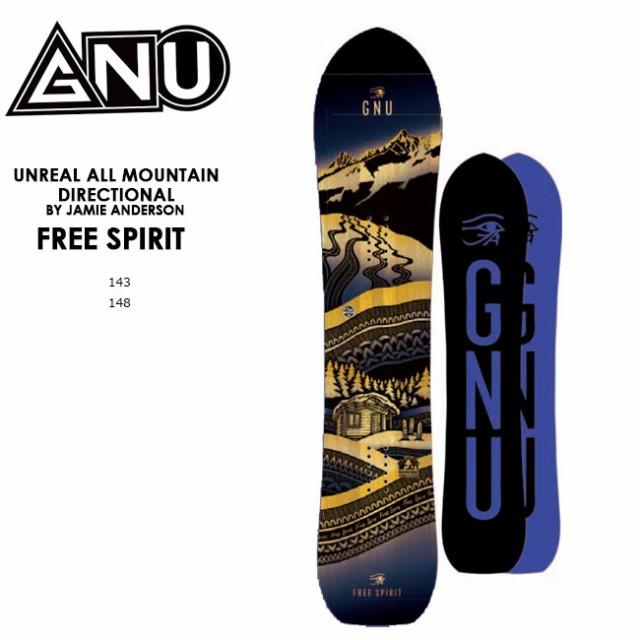 【予約】 グヌー スノーボード GNU FREE SPIRIT フリー スピリット JAMIE ANDERSON 20-21 レディース ハイブリッドキャンバー