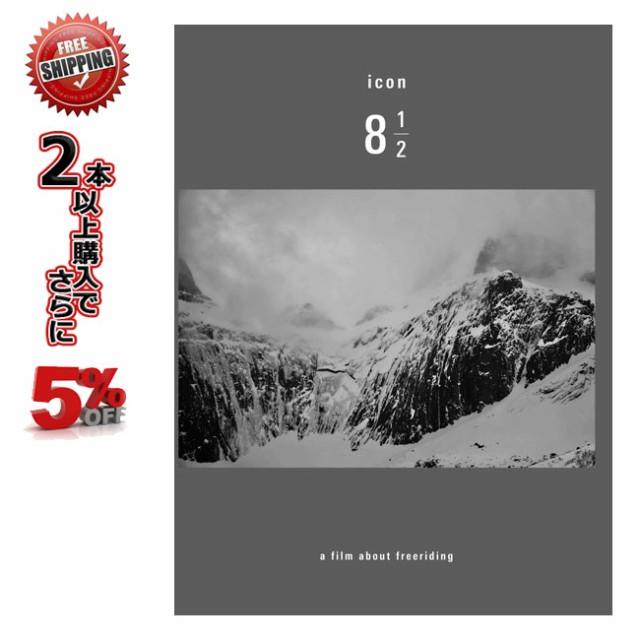 19-20 DVD snow icon8 1/2 アイコン バックカント...