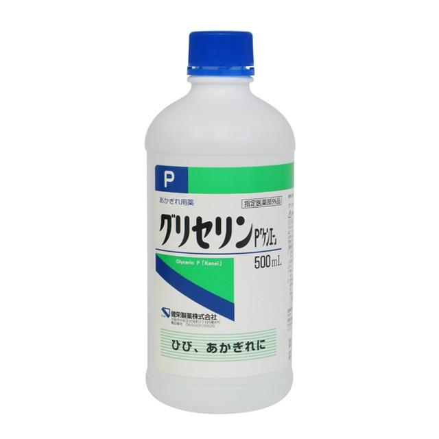 【指定医薬部外品】健栄製薬グリセリン 500ML