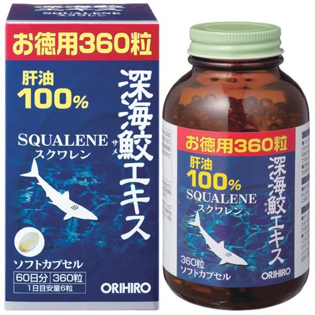 ◆オリヒロ 深海鮫エキスカプセル徳用 360粒...