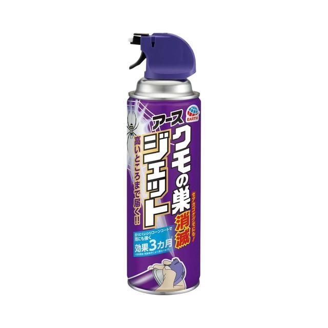 アース製薬 クモの巣消滅ジェット 450mL缶...