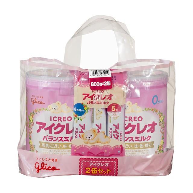 ◆アイクレオのバランスミルク 800g×2缶セ...