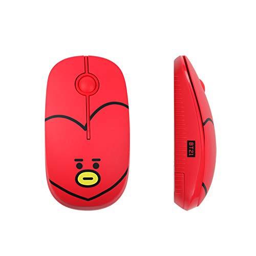 BT21 公式 ワイヤレス 静音 マウス コンパクトサイズ 2.4GHz 無線マウス ユニバ—スター ラインフレンズ【公式ライセンス品】