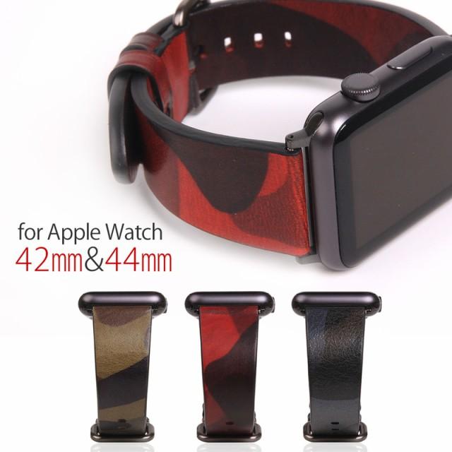 Apple Watch バンド 本革 アップルウォッチ Serie...