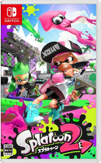 【即納★新品】Nintendo Switch Splatoon 2【2017...