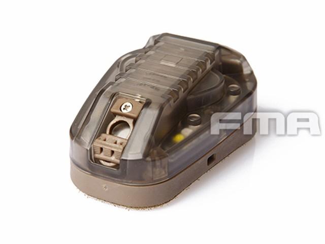 FMA HEL-STAR6 ヘルメット用LEDライト GEN3 (Gree...