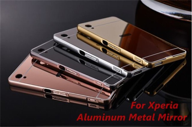 【iPhone/Xperia/Galaxy ケース】Mirror Metal Al...