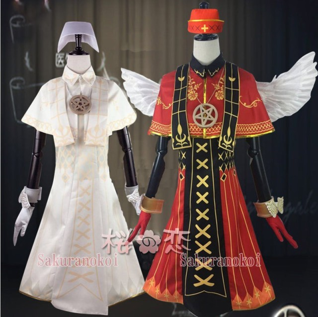 IdentityV 第五人格 コスプレ衣装 医師 光天使/...