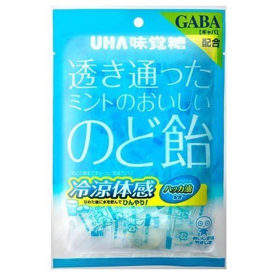 透き通ったミントのおいしいのど飴 92g【UHA味覚...