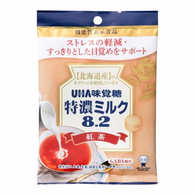 特濃ミルク8.2 紅茶 93g【UHA味覚糖】【490275089...