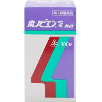 【第2類医薬品】ホノミ漢方薬 ホノビエン錠deux 3...
