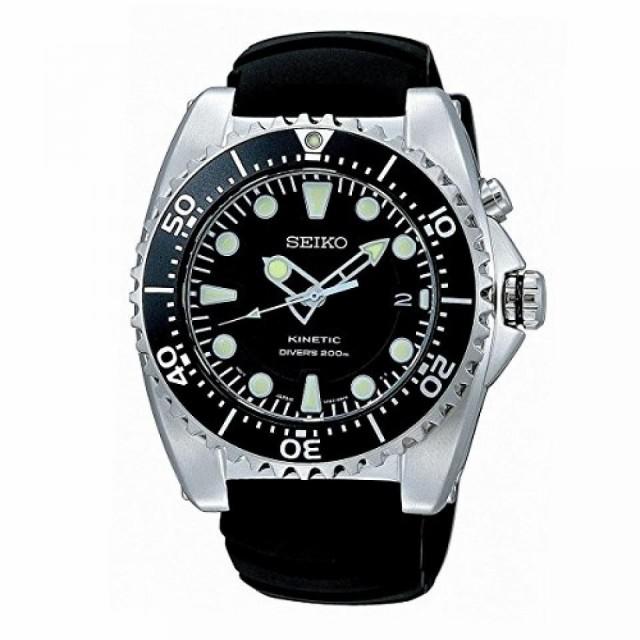 セイコー メンズ 腕時計 SEIKO SKA371P2 Kinetic ...