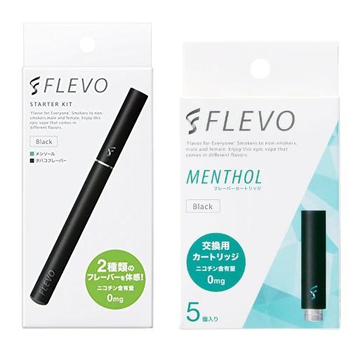 【セット】【電子タバコ】 FLEVOスターター...