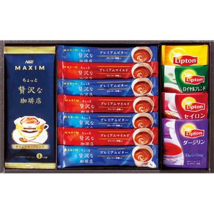 【47%OFF】AGF&リプトン 珈琲・紅茶セット B...