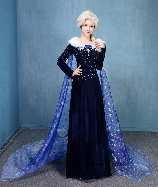 アナと雪の女王 Frozen エルサ  お姉 ワンピース ...