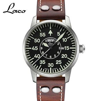 LACO ラコ パイロットウオッチ チューリッヒ 42mm...