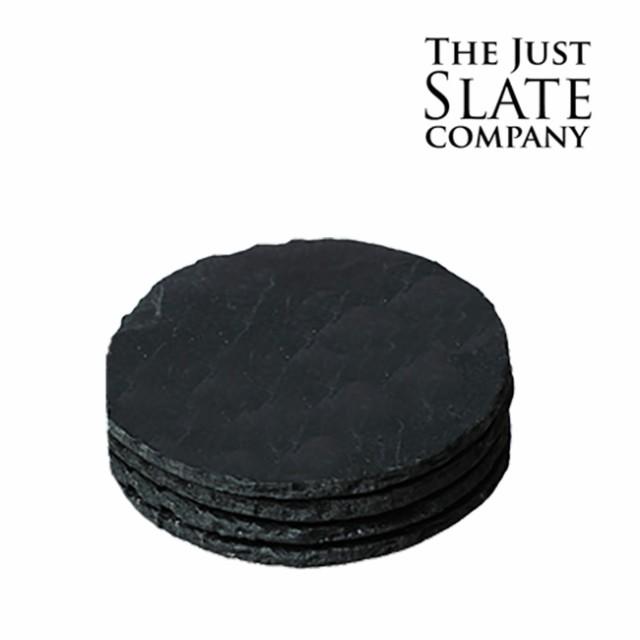 THE JUST SLATE COMPANY コースター(丸) 4枚組 JS...