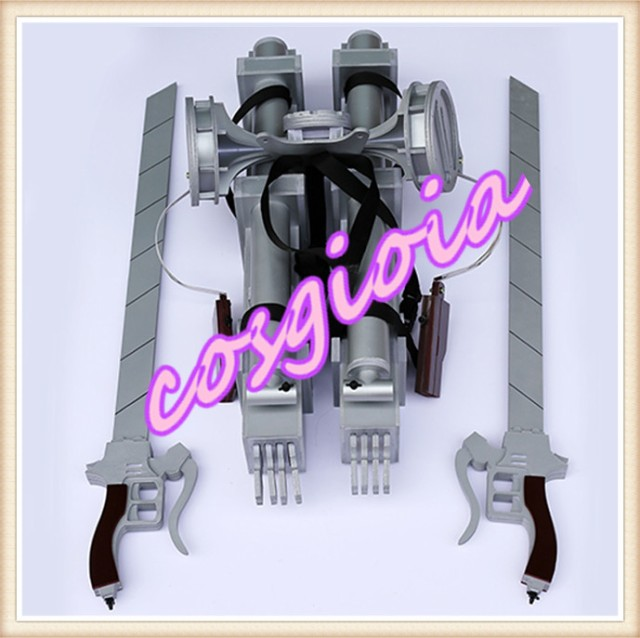 進撃の巨人 立体機動装置 コスプレ道具 進撃の巨...