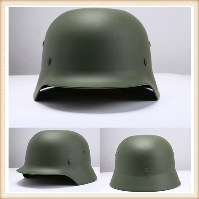 ドイツ軍 M-35 スチール レプリカ ヘルメット グ...