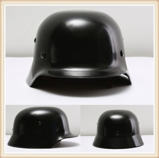 ドイツ軍 M-35 スチール レプリカ ヘルメット ブ...