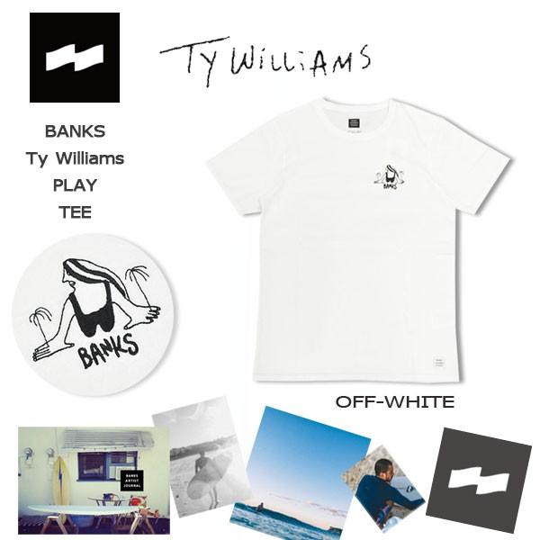 カジュアル Tee バンクス BANKS TY WILLIAMS PLAY...