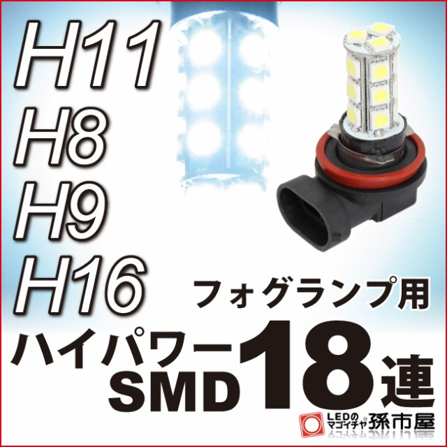 【フォグランプ LED】 ホンダ オデッセイ用LED (R...
